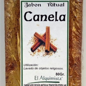 JABON CANELA (atrayente sexual) 100gm echo a mano.